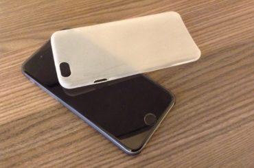Extrem dünne Hülle für das iPhone 6.