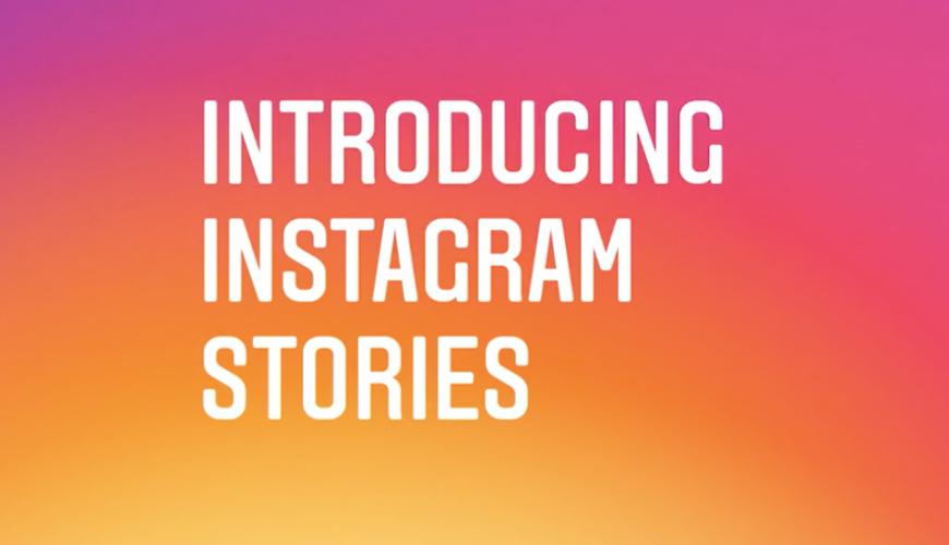 Instagram Stories: Fotos aus der Galerie posten.
