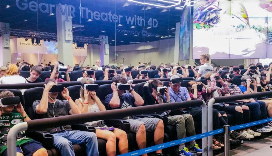 Die gamescom 2016 und meine erste VR-Erfahrung.