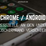 chrome-android-adresszeile