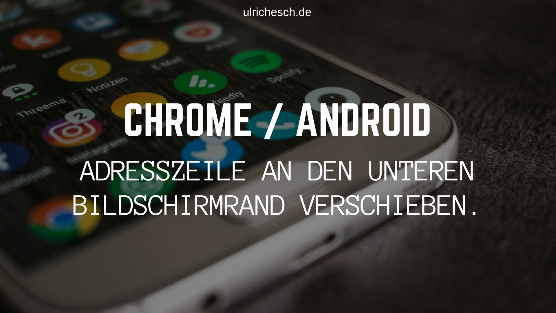 chrome-android-adresszeile