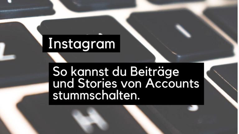 Instagram Komplett Löschen
