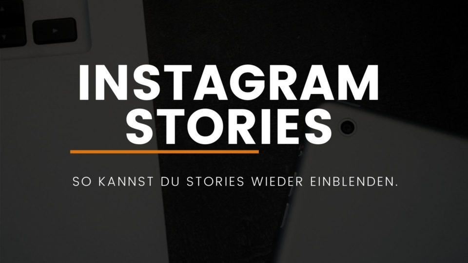 instagram-stories-einblenden