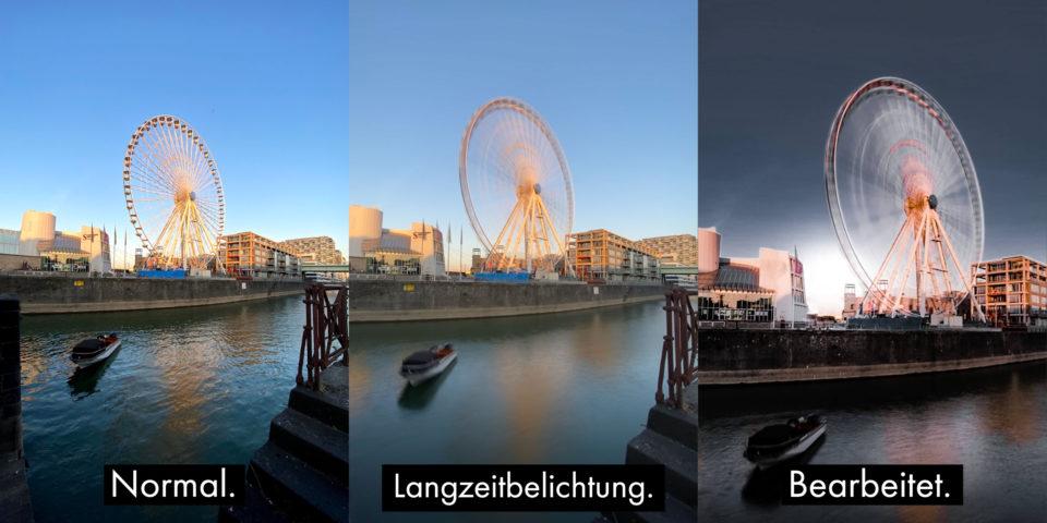 iPhone iOS Langzeitbelichtung
